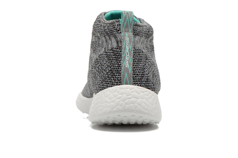 Chaussures de sport Skechers Burst- Divergent 12730 Gris vue droite