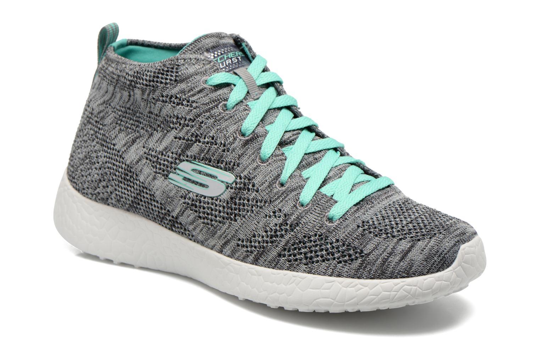Chaussures de sport Skechers Burst- Divergent 12730 Gris vue détail/paire
