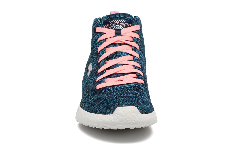 Chaussures de sport Skechers Burst- Divergent 12730 Bleu vue portées chaussures