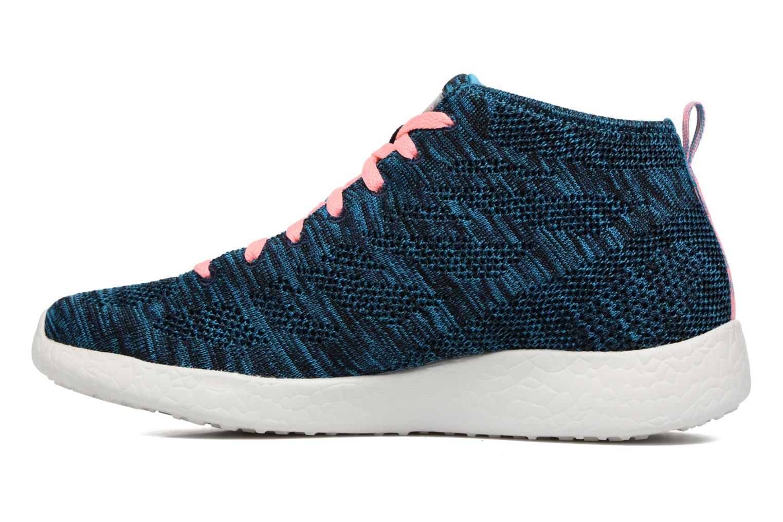 Chaussures de sport Skechers Burst- Divergent 12730 Bleu vue face