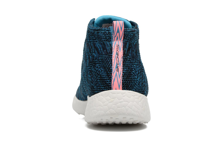 Chaussures de sport Skechers Burst- Divergent 12730 Bleu vue droite