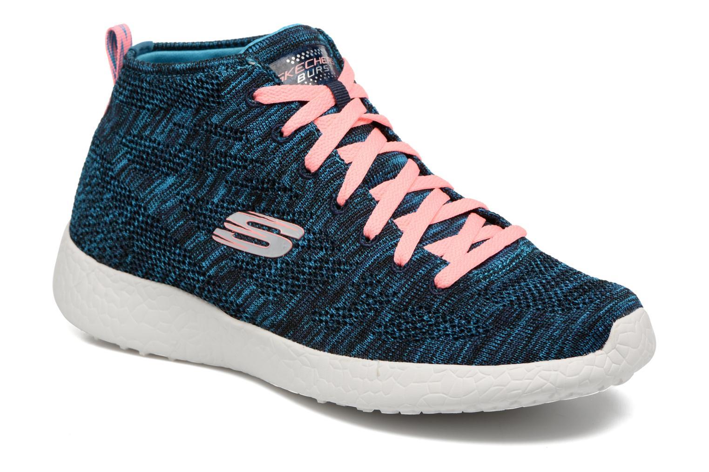 Chaussures de sport Skechers Burst- Divergent 12730 Bleu vue détail/paire