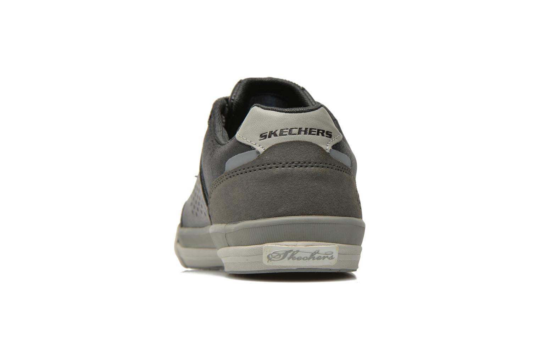 Baskets Skechers Diamondback-Rendol 64666 Noir vue droite