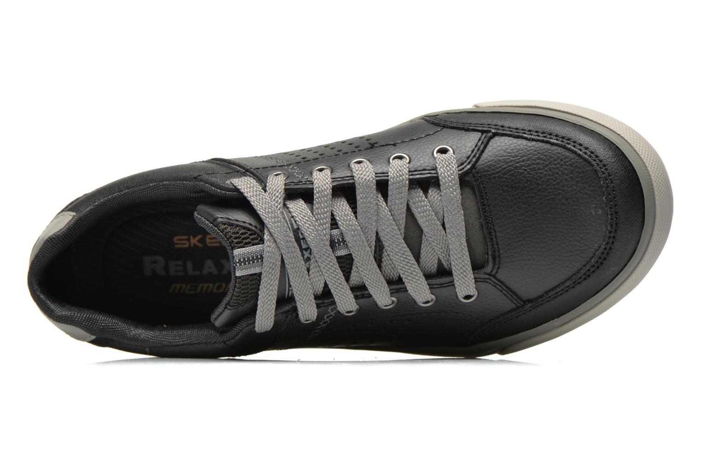 Baskets Skechers Diamondback-Rendol 64666 Noir vue gauche