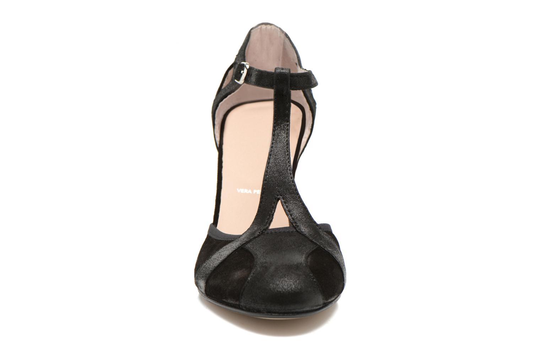 High heels San Marina Mocata Black model view