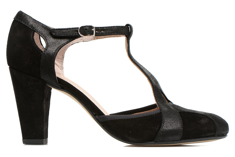 Zapatos de tacón San Marina Mocata Negro vistra trasera