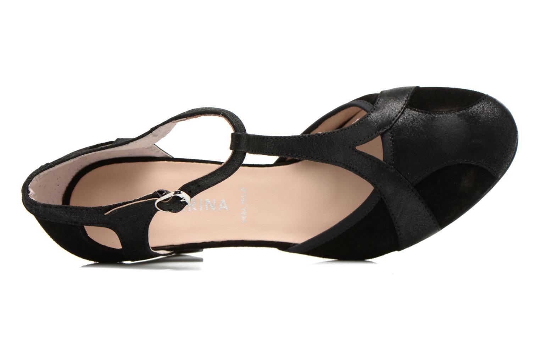 High heels San Marina Mocata Black view from the left