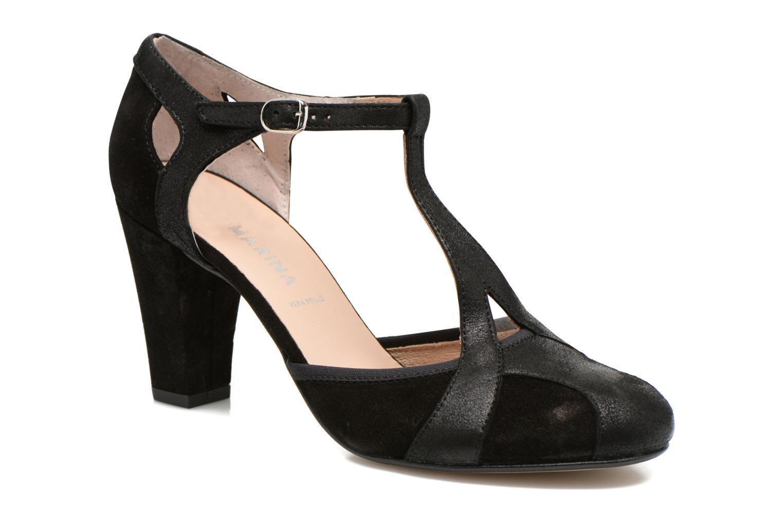 Zapatos de tacón San Marina Mocata Negro vista de detalle / par