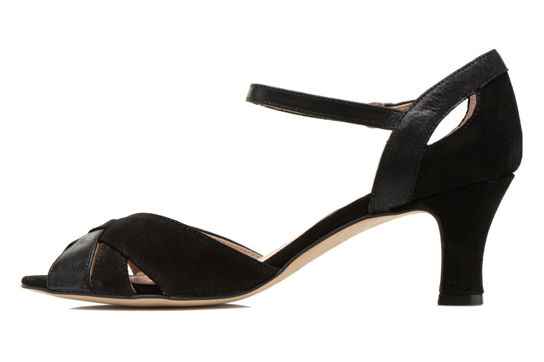 Zapatos de tacón San Marina Mitona Negro vista de frente