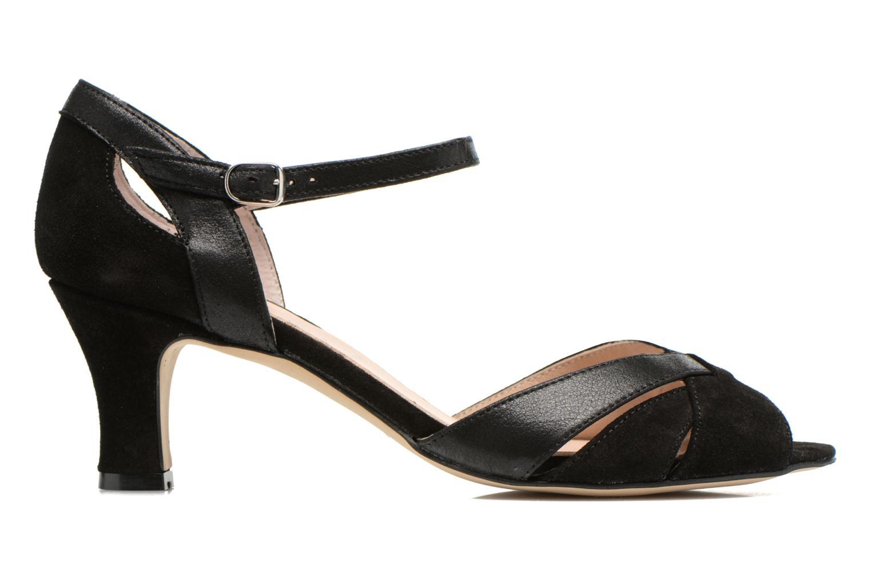 Zapatos de tacón San Marina Mitona Negro vistra trasera