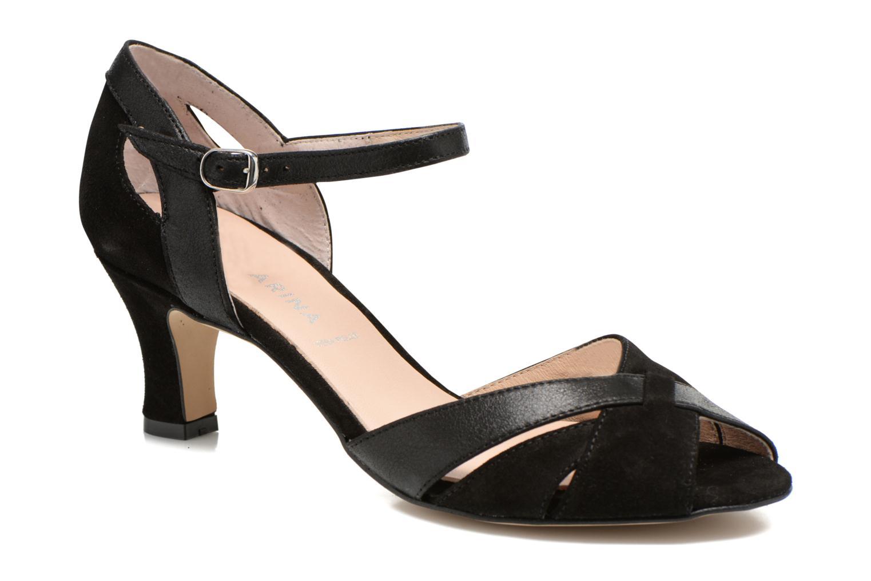 Zapatos de tacón San Marina Mitona Negro vista de detalle / par