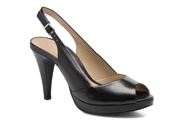 Sandales et nu-pieds San Marina Nardo Noir vue détail/paire