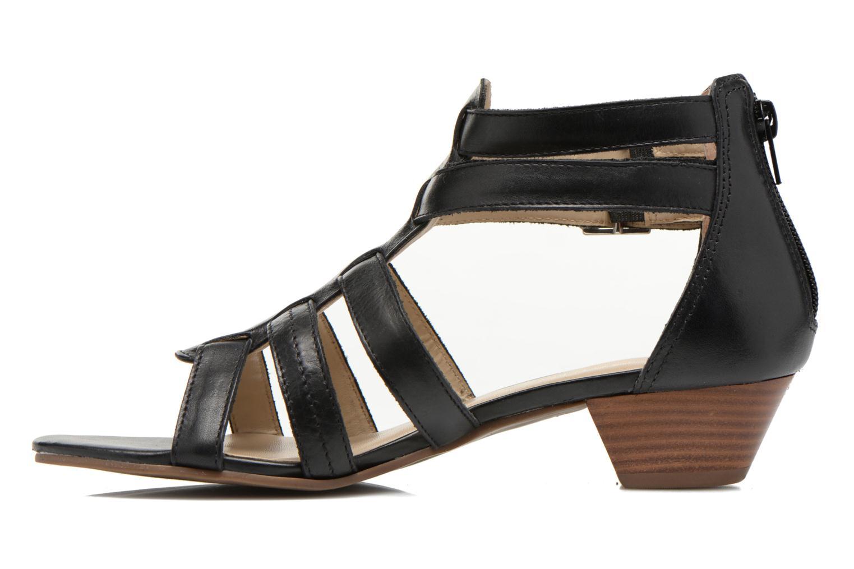Sandales et nu-pieds San Marina Vurina Noir vue face