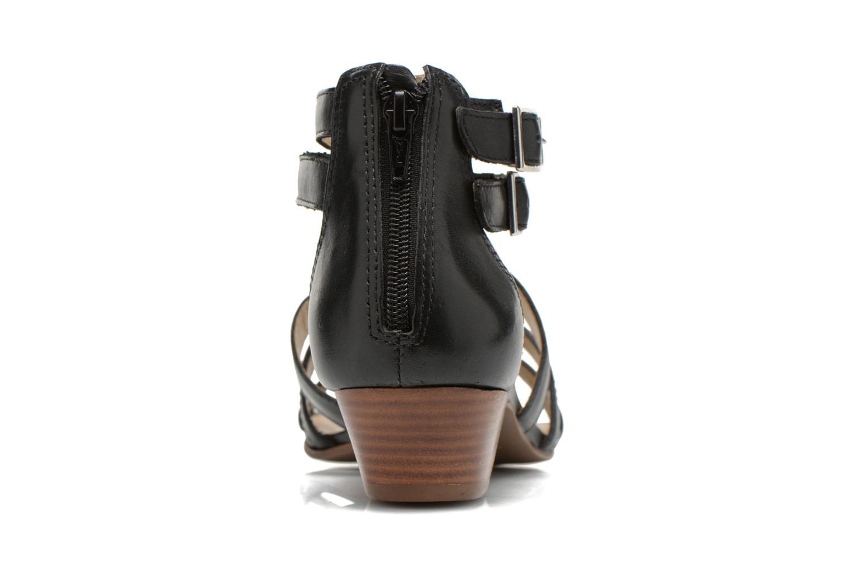 Sandales et nu-pieds San Marina Vurina Noir vue droite