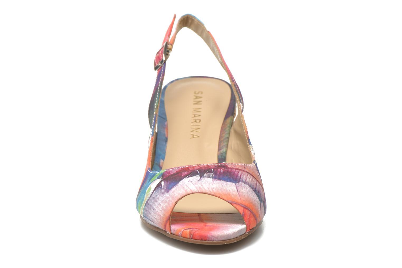 Sandales et nu-pieds San Marina Navaja/Tiss Multicolore vue portées chaussures