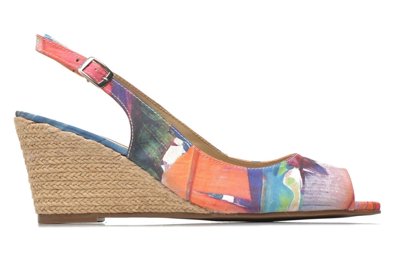 Sandales et nu-pieds San Marina Navaja/Tiss Multicolore vue derrière