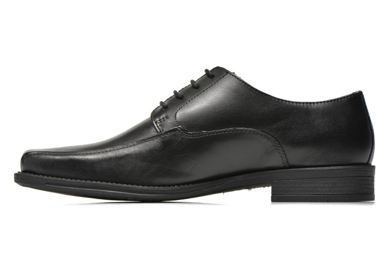 Zapatos con cordones San Marina Aladin Negro vista de frente