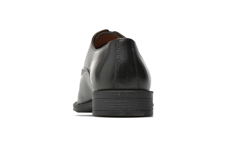 Zapatos con cordones San Marina Aladin Negro vista lateral derecha