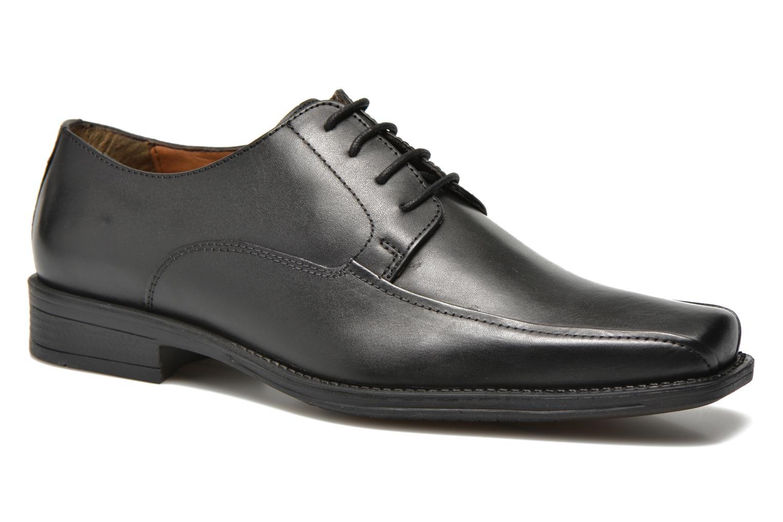Zapatos con cordones San Marina Aladin Negro vista de detalle / par