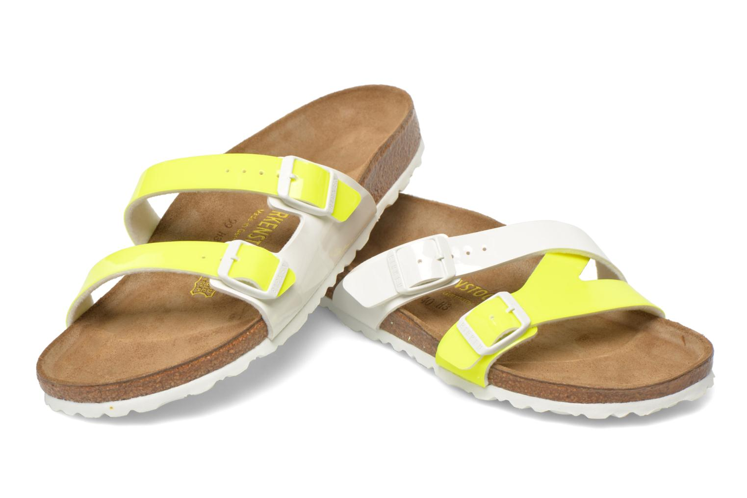 Mules & clogs Birkenstock Yao Flor Yellow 3/4 view