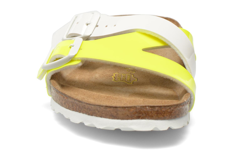 Mules et sabots Birkenstock Yao Flor Jaune vue portées chaussures