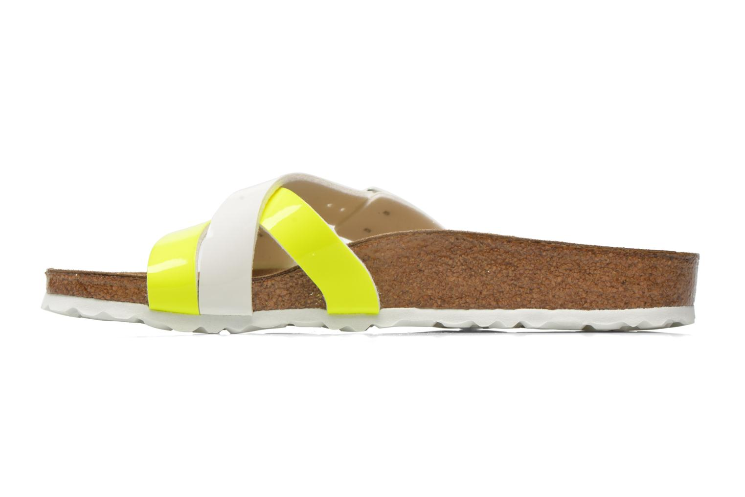 Mules & clogs Birkenstock Yao Flor Yellow front view