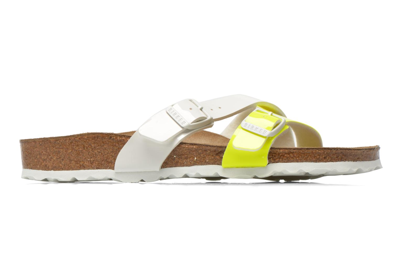 Mules & clogs Birkenstock Yao Flor Yellow back view