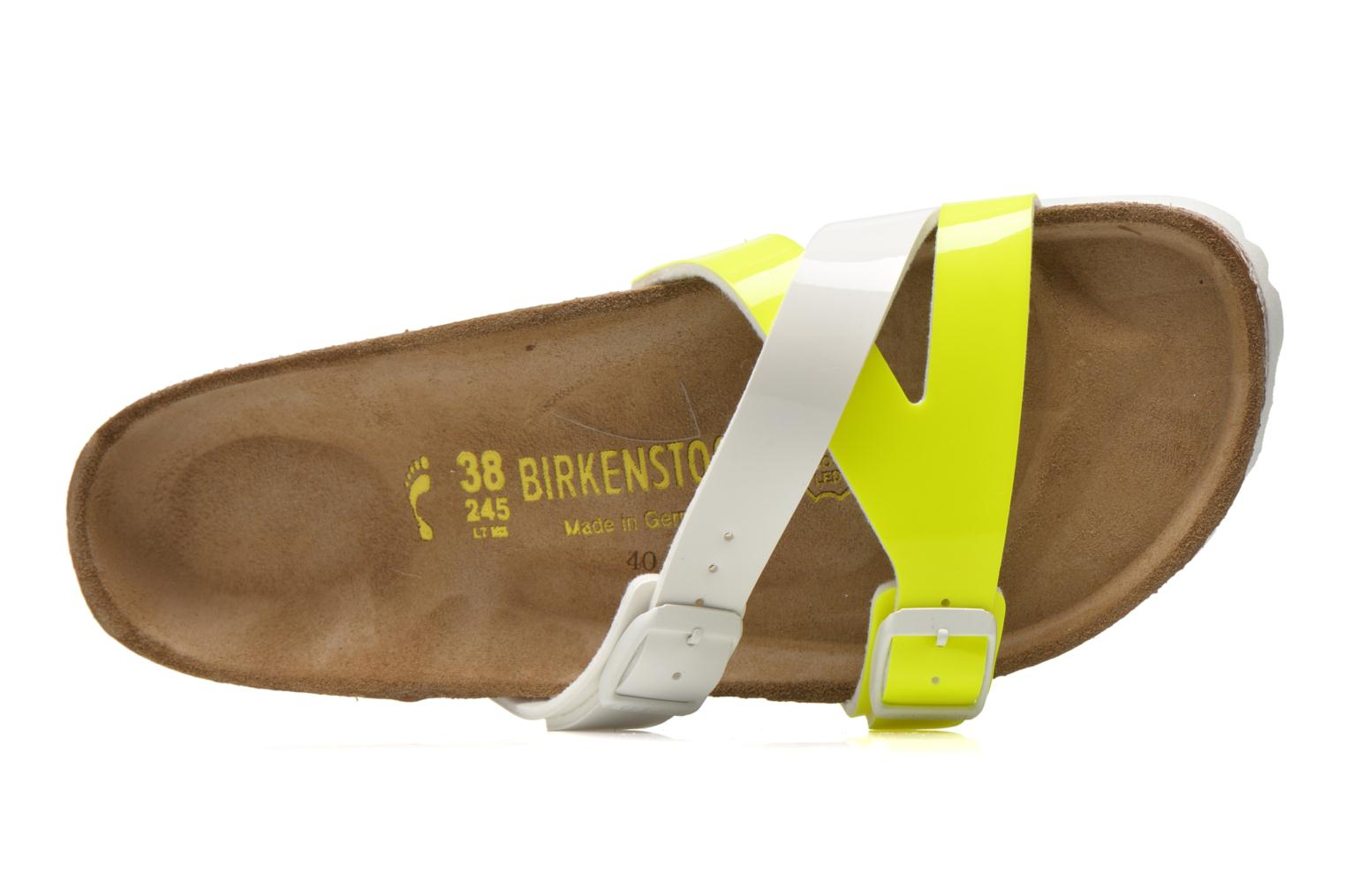 Mules & clogs Birkenstock Yao Flor Yellow view from the left