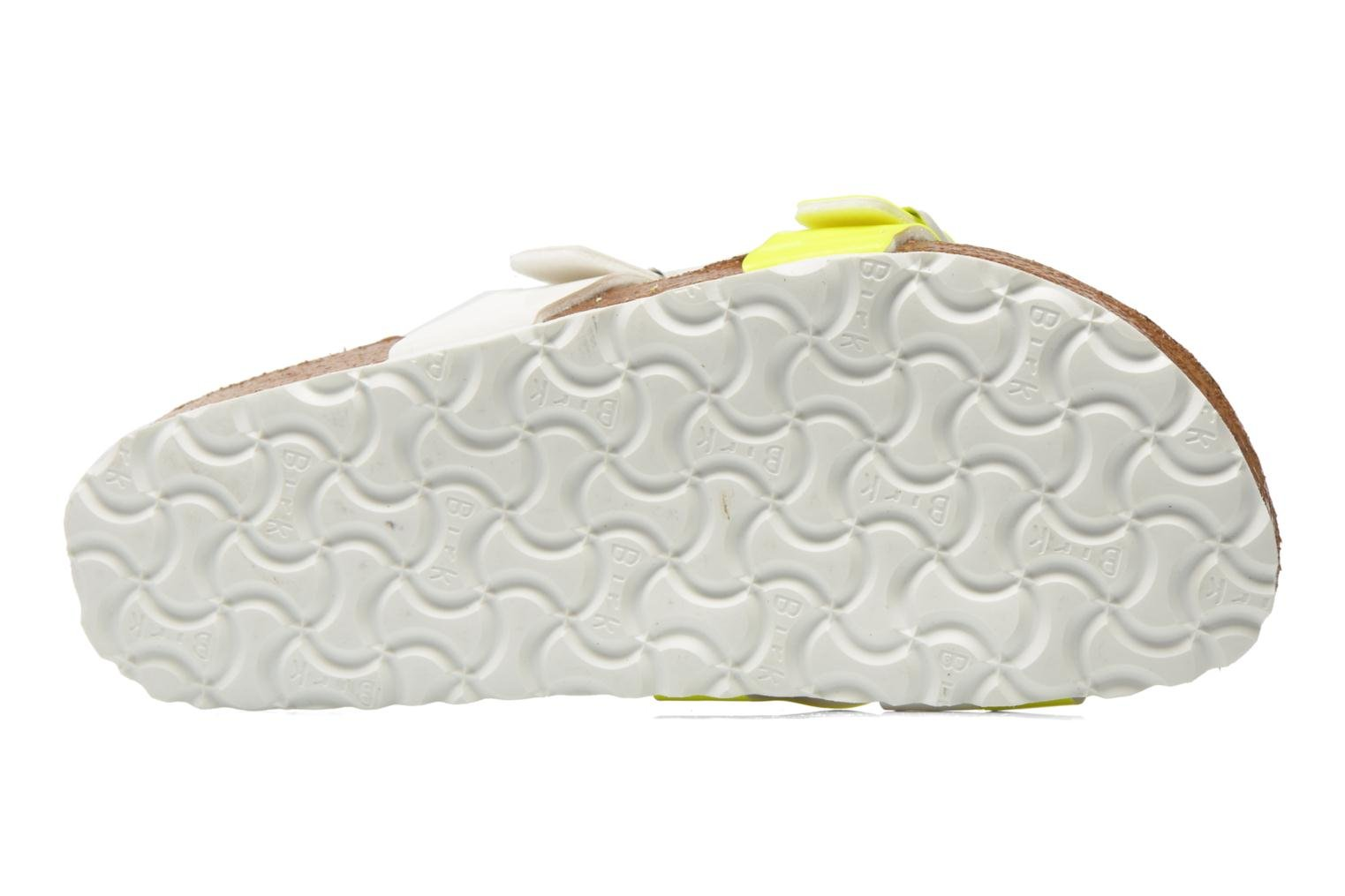 Mules & clogs Birkenstock Yao Flor Yellow view from above