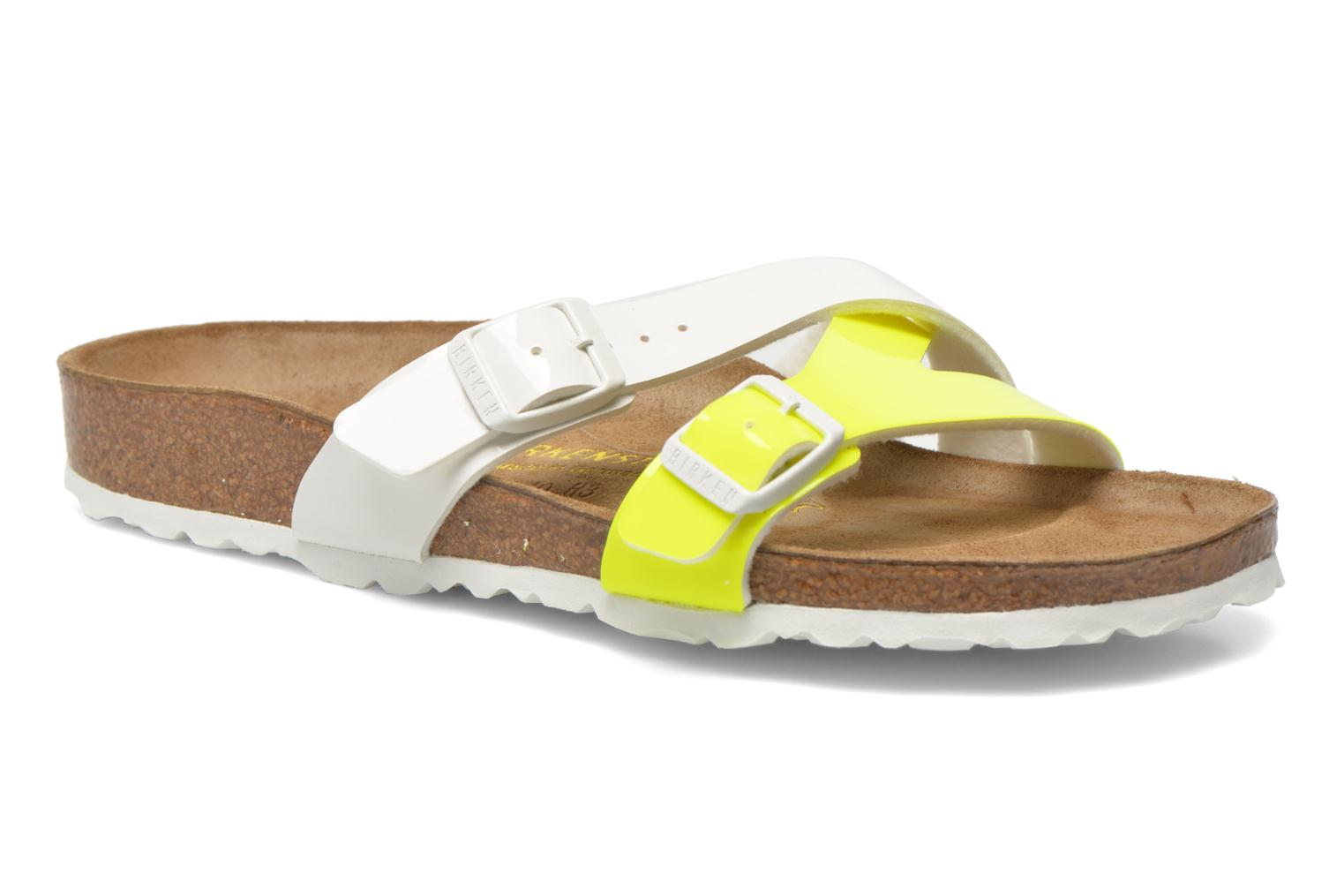 Mules & clogs Birkenstock Yao Flor Yellow detailed view/ Pair view
