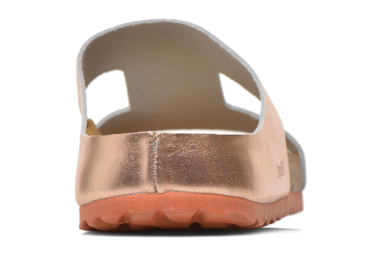 Charlize Cuir W Metallic Copper