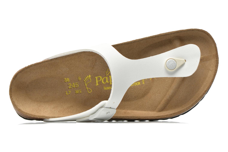 Slippers Papillio Gizeh Flor Platform Wit links