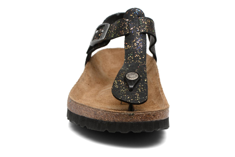 Sandalen Papillio Kairo schwarz schuhe getragen