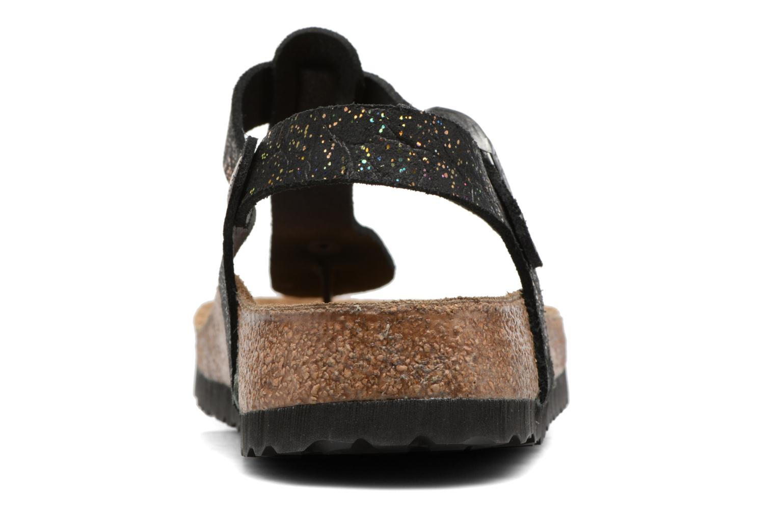 Sandals Papillio Kairo Black view from the right