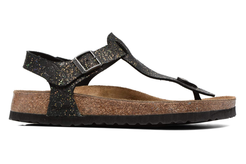 Sandalen Papillio Kairo schwarz ansicht von hinten