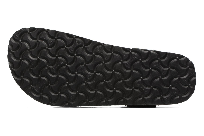 Sandalen Papillio Kairo schwarz ansicht von oben