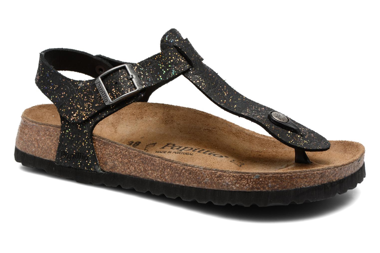 Sandalen Papillio Kairo Zwart detail