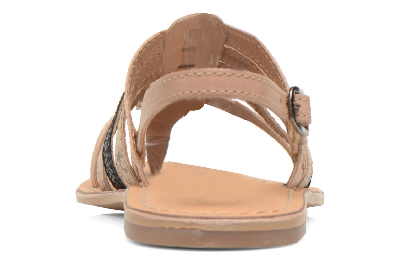 Sandales et nu-pieds André Bonus Multicolore vue droite