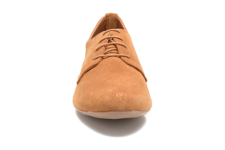 Chaussures à lacets André Fabuleux P Marron vue portées chaussures