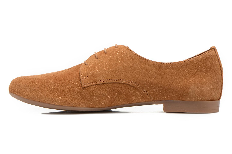 Chaussures à lacets André Fabuleux P Marron vue face
