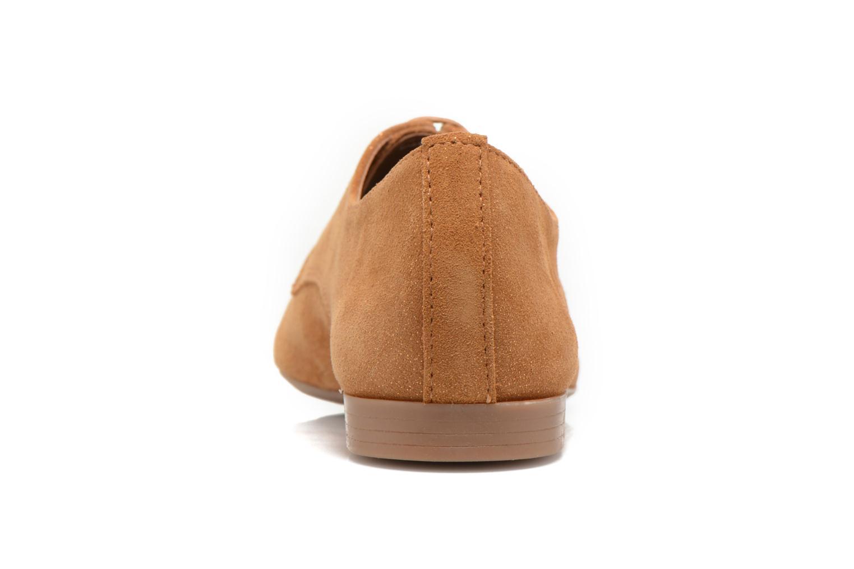 Chaussures à lacets André Fabuleux P Marron vue droite