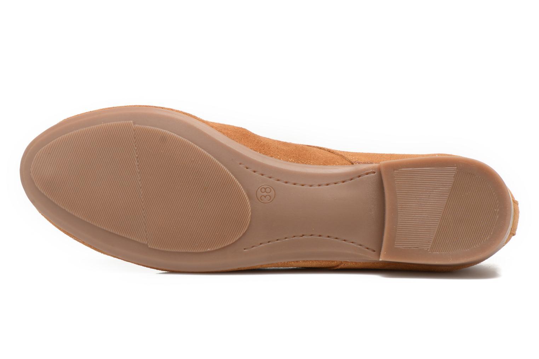 Chaussures à lacets André Fabuleux P Marron vue haut