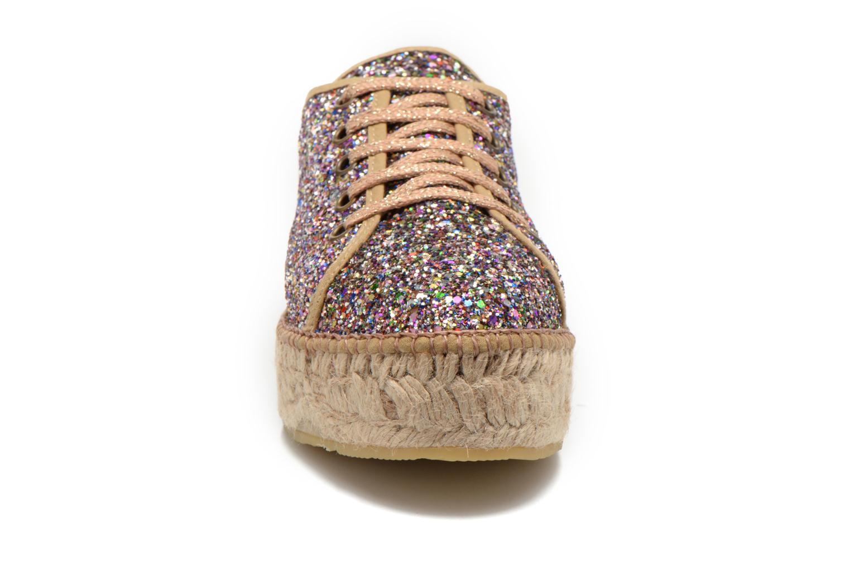 Chaussures à lacets André Friandise Multicolore vue portées chaussures