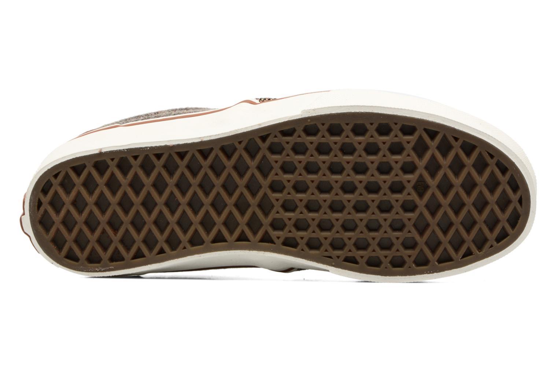 Baskets Vans Atwood Deluxe Marron vue haut
