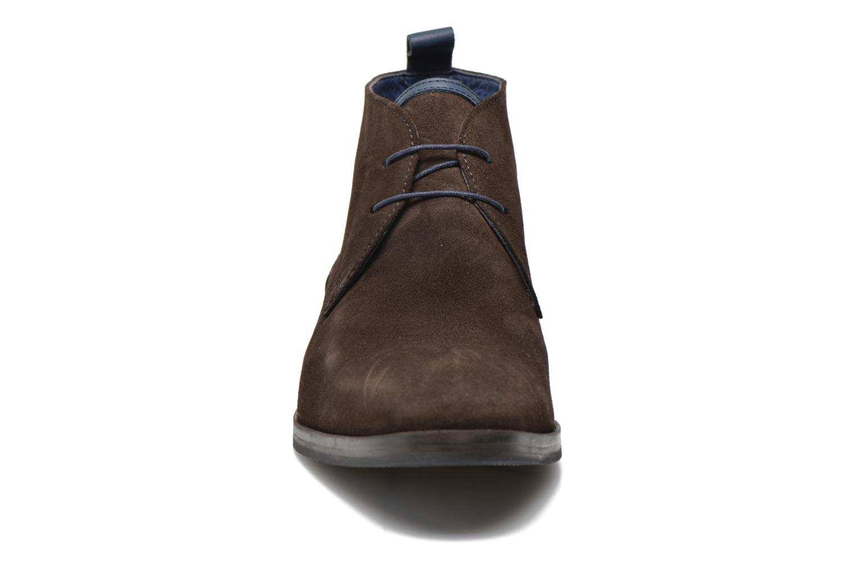 Schnürschuhe Brett & Sons Bigo 2 braun schuhe getragen