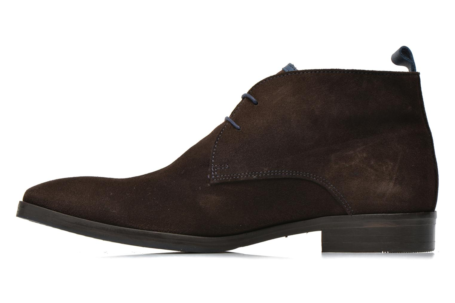 Lace-up shoes Brett & Sons Bigo 2 Brown front view
