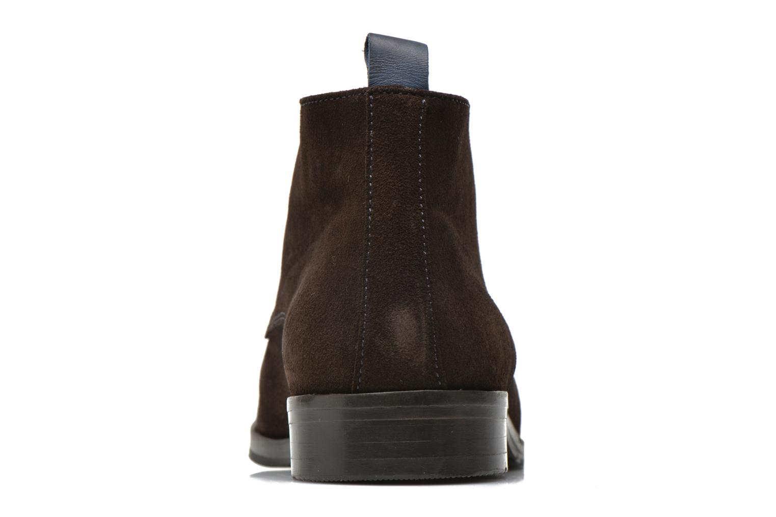 Lace-up shoes Brett & Sons Bigo 2 Brown view from the right