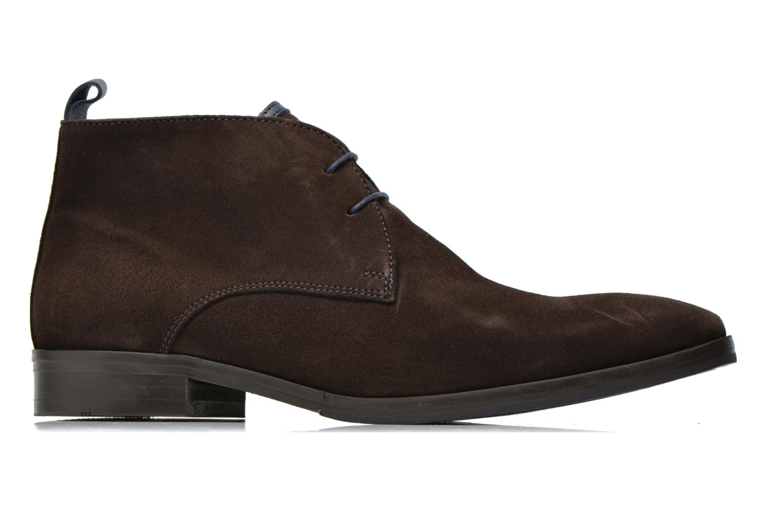 Lace-up shoes Brett & Sons Bigo 2 Brown back view