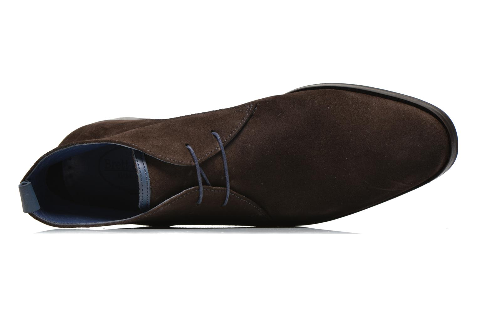 Lace-up shoes Brett & Sons Bigo 2 Brown view from the left