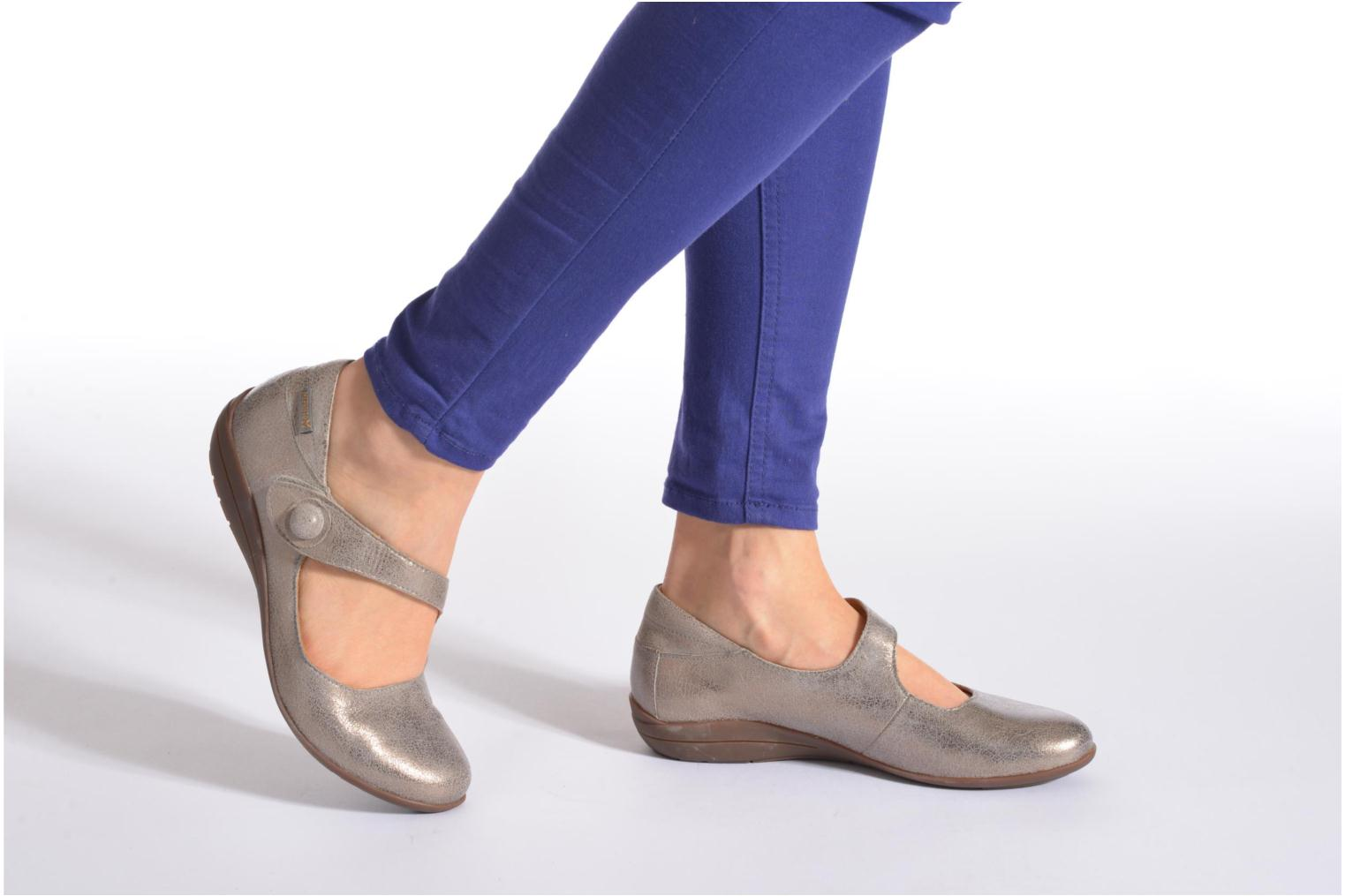 Ballet pumps Mephisto ODALYS Grey view from underneath / model view